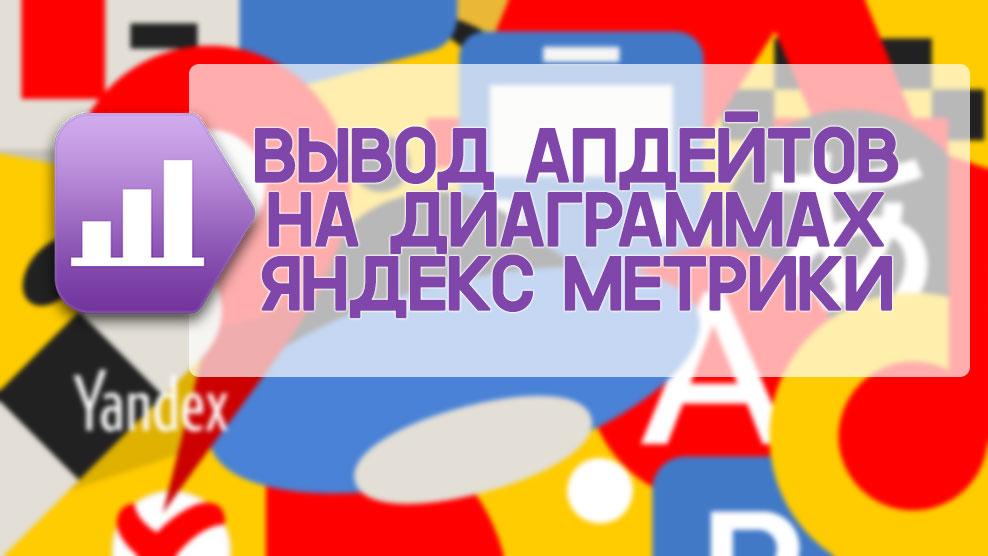Апдейты на диаграммах Яндекс Метрики